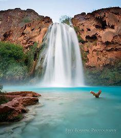 Havasu Falls on the Havasupai Reservation