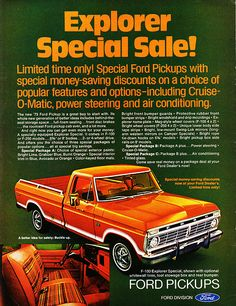 1973 Ford F-100 Explorer Special Pickup