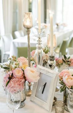 Photographer: Ann-Kathrin Koch; Wedding reception centerpiece idea