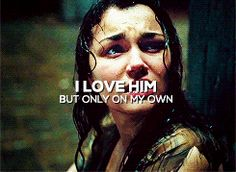 Eponine reminds me of Reyna. They both love someone who only sees them as a friend. I feel so bad. Someone get them the boyfriends they deserve.