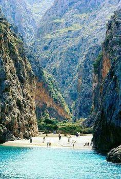 Agiofarago beach, Crete Island, Greece