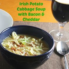 Soup with Bacon and Cheddar Recipe Soups with bacon, olive oil, onions ...