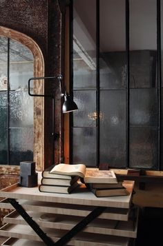 Fabulous Tips: Industrial Space Event small industrial apartment.Industrial Home Design. Lampe Industrial, Industrial Living, Industrial Chic, Vintage Industrial, Industrial Design, Industrial Wallpaper, Industrial Bookshelf, Industrial Windows, Kitchen Industrial