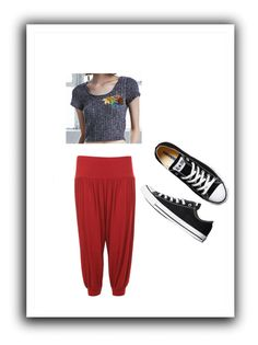 """""""Untitled #7"""" by alice-ama ❤ liked on Polyvore featuring Nollie, WearAll and Converse"""