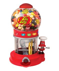 Look at this Red 20 Flavors Mr. Jelly Belly Bean Machine on #zulily today!