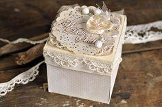 cynkowe poletko: ślubny exploding box