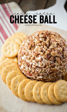 This Easy Salsa Cheese Ball is so delicious! The perfect appetizer for parties or a game day snack!