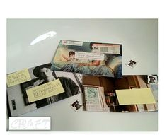 Make envelopes out of magazine pages