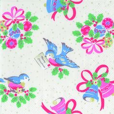 Christmas Gifts For The Home, Christmas Bird, Christmas 2014, Retro Christmas, Christmas Wrapping, Christmas Letters, Cath Kidston Christmas, Vintage Wrapping Paper, Wrapping Papers