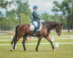 Andrea competing in the Townsville heat