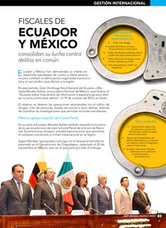 Gestión Internacional: Fiscales de Ecuador y México consolidan su lucha contra delitos en común