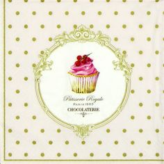 4 x Single Luxury Paper Napkins for Decoupage and Craft Vintage Cake Pops   eBay