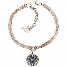 Guess Coins of Love Rose Plate Bracelet UBB21537-L Bangle Bracelets, Bangles, Fiorelli, Love Rose, Gold, Pendant Necklace, Jewels, Diamond, Coins