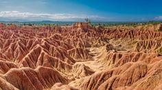 El desierto de la Tatacoa fue llamado el Valle de las tristezas en 1538 por Gonzalo Jiménez de Quesada