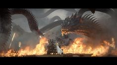 ArtStation - Game of War: Fire Age ft. Kate Upton (Hydra), Cory Cosper