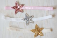 star sequin headband  your choice of color by MilleFeuilleBoutique, $9.99