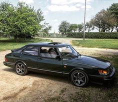 "Saab Classics on Instagram: ""That's a great looking Saab 900 Turbo. @milespeth 's 900 is equipped with Bilstein shocks & Abbott Racing springs, JR 5 spoke alloys in…"""