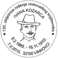 Sonderstempel Kroatien Ivan Kozarac