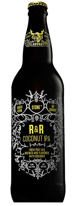...MUST TRY! Stone R&R Coconut IPA