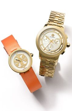 Beautiful Tory Burch watches http://rstyle.me/n/q3remnyg6