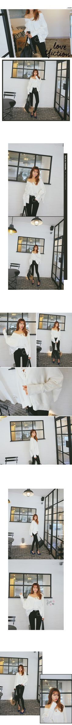 Criss Cross Off Shoulder Top | DABAGIRL, Your Style Maker | Korean clothes, bags&shoes, accessories, cosmetics