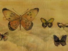 Carta da parati BUTTERFLIES Collezione Giò Pagani 14 by Wall&decò   design GIOPAGANI