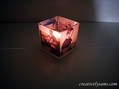 Father's Day Photo Centerpiece-tutorial