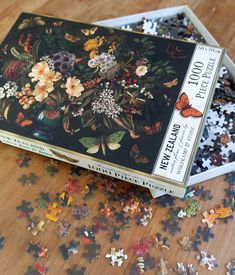 NZ Flora and Fauna 1000pc puzzle Kiwiana, Flora And Fauna, New Zealand, Puzzle, Creative, Artist, Gifts, Puzzles, Presents
