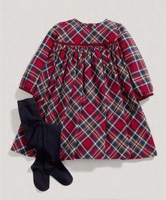 Girls Two Piece Tartan Dress Set - Special Occasion/Christening - Mamas & Papas