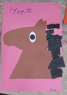Mrs. Karens Preschool Ideas: Farm Horse