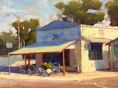 """Soda Pops,"" Boerne, Texas, 9 x 12 inches, Oil.  Artist, Guy Jackson.  www.guyjacksonart.com. Boerne Texas, Impressionist Art, Soda, Jackson, Contemporary, Guys, House Styles, Sweet, Artist"