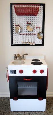 play kitchen redo