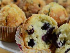 Muffins de arandanos - Ariel Rodriguez Palacios