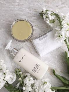 1) Pro-Collagen Marine Cream  2) Resurfacing Cleanser  3) Toner  #Beauty #Elemis