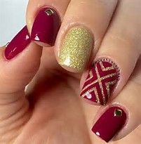 Image result for Red Nail Designs