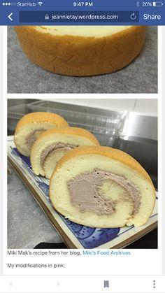 The best homemade Classic Vanilla Swiss Roll recipe. Foolproof swiss roll recipe, roll without crack. Cake Receipe, Cake Roll Recipes, Swiss Recipes, Cream Recipes, Vanilla Swiss Roll Recipe, Asian Cake, Italian Desserts, Rolls Recipe, Health Desserts