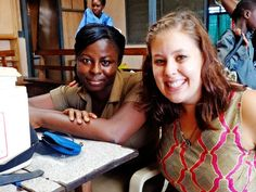 """""""Give yourself to your project.""""  Meet Avery, a nursing student at Seattle University, who served for 2 months at the #medical project in #Ghana. A great interview! #Review"""