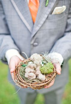 A Charleston wedding photo taken by Shannon Michele Photography - Ring Bearer