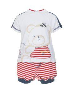 Prenatal - Moda Baby: abbigliamento da 0 ai 30 mesi per il tuo bambino, bimbo, bebè - Completi - Prenatal - Completo corto con stampe