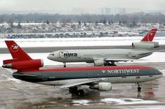 N-number cancelled as expired] Northwest Airlines, Airline Logo, Commercial Aircraft, Civil Aviation, Boeing 747, Air Travel, Military Aircraft, Vintage Advertisements, North West