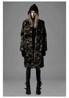 Erro FW 13 - camou long jacket