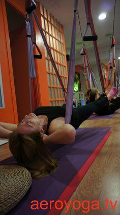 aerial yoga, aerial yoga and pilates www.aerialyoga.tv Inversion Therapy: Aero Yoga© Postures by yogacreativo, via Flickr