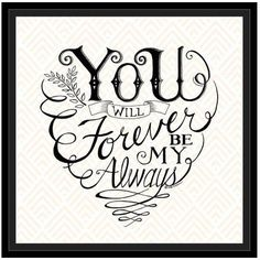 "Decorate your home or office walls with the ""You and Me Forever"" Canvas Wall Art from Courtside Market. Featuring a sweet, sentimental message, this lovely piece can be personalized with a name and date for a custom touch. Diy Tattoo, Tattoo Fonts, Forever And Always Tattoo, Abstract Canvas, Canvas Wall Art, Body Art Tattoos, Tatoos, Tattoo Drawings, Daddy Tattoos"
