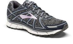40da2deec4fc Size 8.5 Brooks Women s Adrenaline GTS 17 Road-Running Shoes Metallic  Charcoal Black 10.5