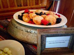 Western Buffet #coloradospringsevents #gardenofthegodsgourmetcatering #westernbuffet #thebroadmoorstables #catering #desserts #pinchpocketpies