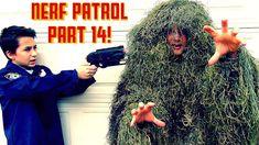 Nerf Patrol And The Bushman Scare Prankster w/ Slender man, Killer Clown...