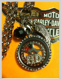 A Harley Davidson themed Living Locket