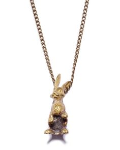 The Bunny Necklace by JewelMint.com, $34.00
