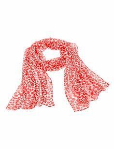 Scarf in on-trend polka dot print