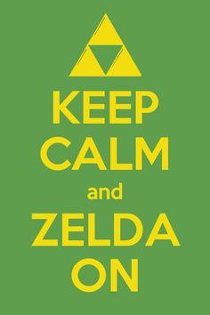 Yes I will zelda on  in fact , I am a Zelda believer